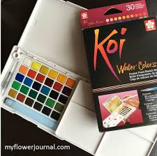 KOI WATERCOLOUR SET 30