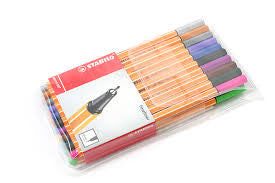 STABILO 88 PEN SET OF 10