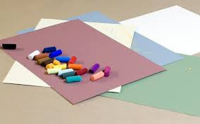 SANDED PASTEL PAPERS