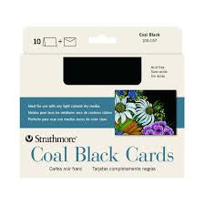 GREET CARD COAL BLACK