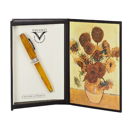 VISCONTI FOUNTAIN PEN  VAN GOGH SUNFLOWERS
