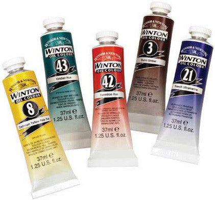 WINTON OIL COLOURS 200ML