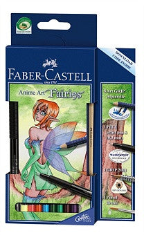 ANIME ART SETS FABER CASELL