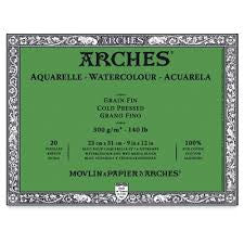 ARCHES WATERCOLOUR BLOCKS COLD PRESSED