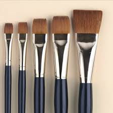 KOLINSKY SABLE BRUSH FLAT