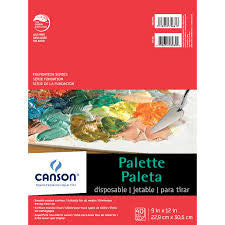 CANSON DISPOSABLE PALETTES