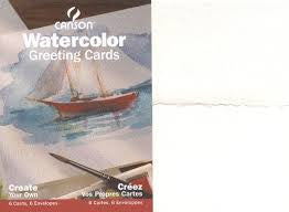 CANSON WATERCOLOUR CARDS