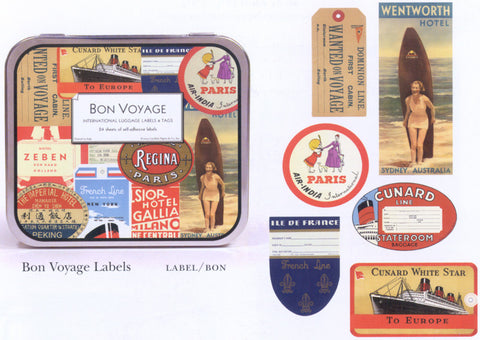CAVALLINI LABELS & STICKERS