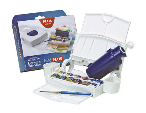 COTMAN WATERCOLOUR FIELD PLUS SET