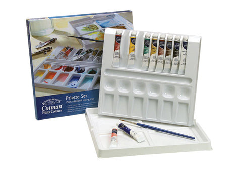 COTMAN WATERCOLOUR PALETTE SET