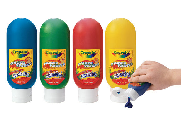 WASHABLE FINGERPAINTS 3x 8oz