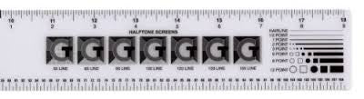 GRAPHIC ART RULER