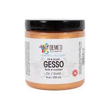 COLOURED GESSO