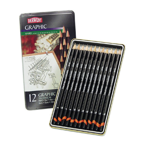 DERWENT GRAPHITE PENCIL SETS