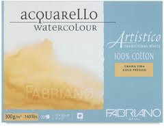 FABRIANO ARTISTICO WATERCOLOUR BLOCKS