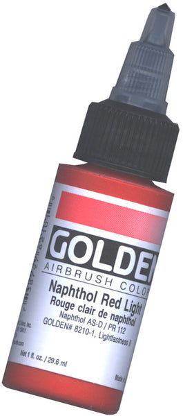 GOLDEN AIRBRUSH COLOURS