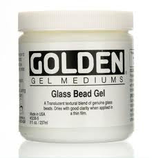 GOLDEN 8OZ GLASS BEAD GEL