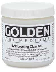 GOLDEN 8OZ SELF LEVEL CLEARGEL