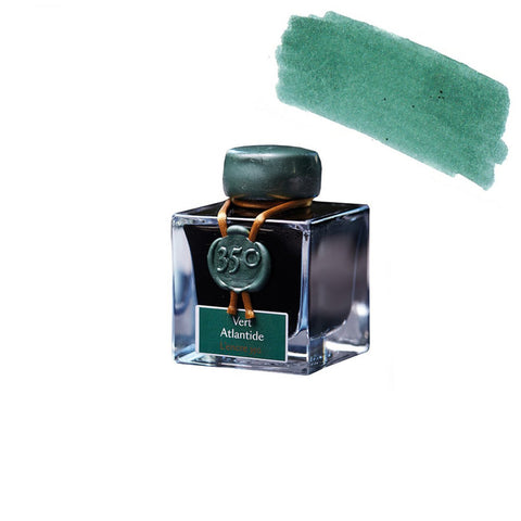 FOUNTAIN INK 1798 ATLANTIS GREEN