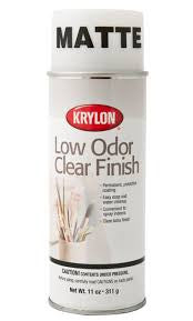 KRYLON LOW ODOR CLEAR MATTE