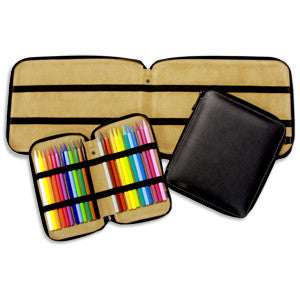 LEATHER PENCIL CASE 24