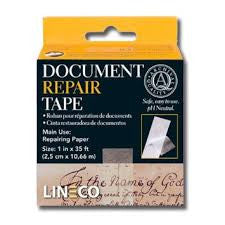 LINECO DOCUMENT REPAIR TAPE - 12'