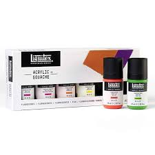 LIQUITEX GOUACHE SET 6 22ML