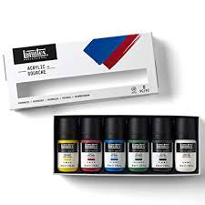 LIQUITEX GOUACHE SET 6 59ML