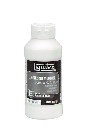 LIQUITEX POURING MEDIUM 8OZ