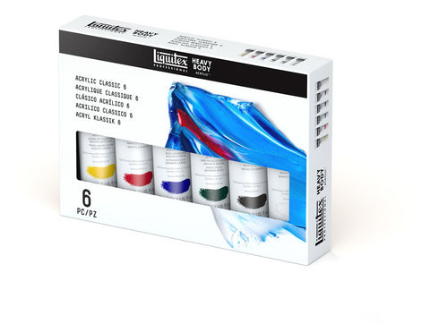 LIQUITEX STUDIO SET 6