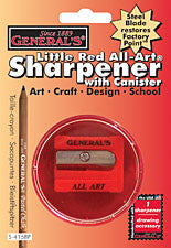 GENERALS LITTLE RED SHARPENER