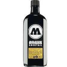 MOLOTOW ACRYLIC PAINT MARKER - COCKTAIL REFILL BLACK