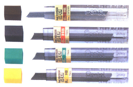 PENTEL MECHANICAL PENCIL LEADS