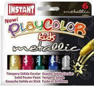 PLAYCOLOR SET 6 METALLIC