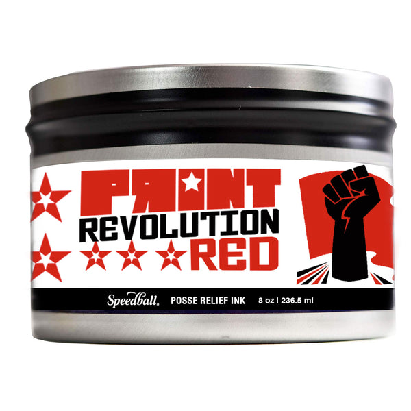 SPEEDBALL POSSE RELIEF INK -  REVOLUTION RED