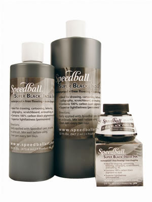 SPEEDBALL INK SUPER BLACK