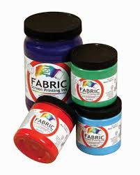SCREEN PRINT INK - TEXTILE - SIZE: 8OZ
