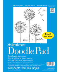 STRATHMORE YOUTH DOODLE PAD