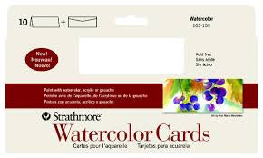 STRATHMORE CARDS - WATERCOLOUR