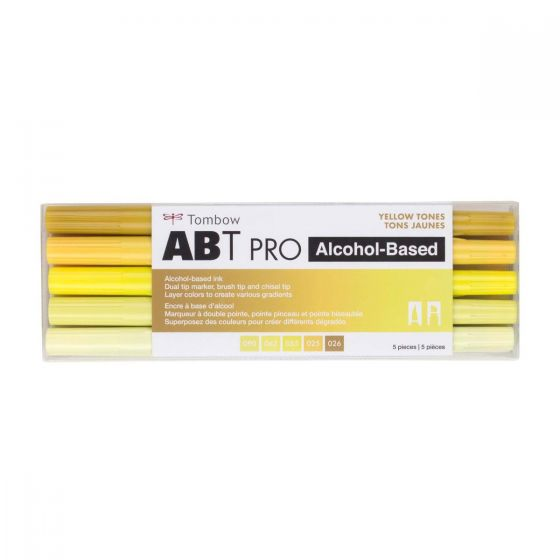 TOMBOW ABT ALCOHOL MARKER SET 5
