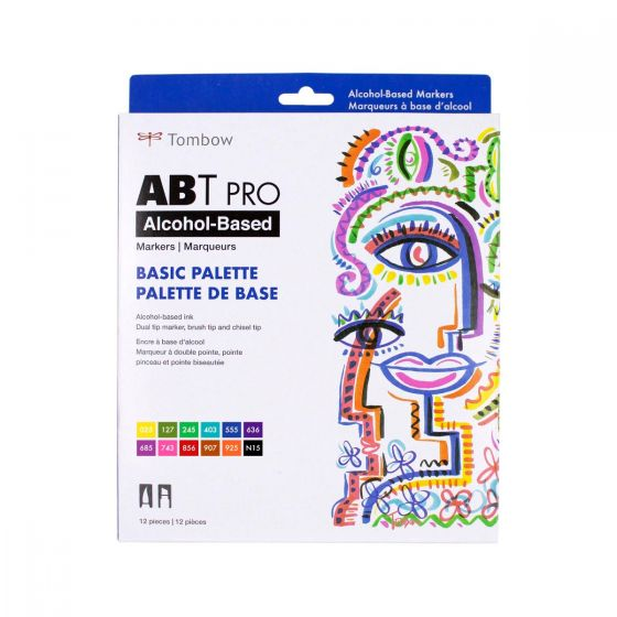 TOMBOW ABT ALCOHOL MARKER SETS OF 12