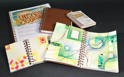 STRATHMORE VISUAL ART JOURNALS - SIZE: 9X12