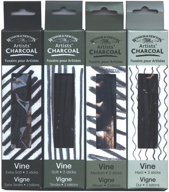 WINSOR & NEWTON CHARCOAL PACKS