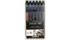 ZEBRA BRUSH PEN SET OF 6