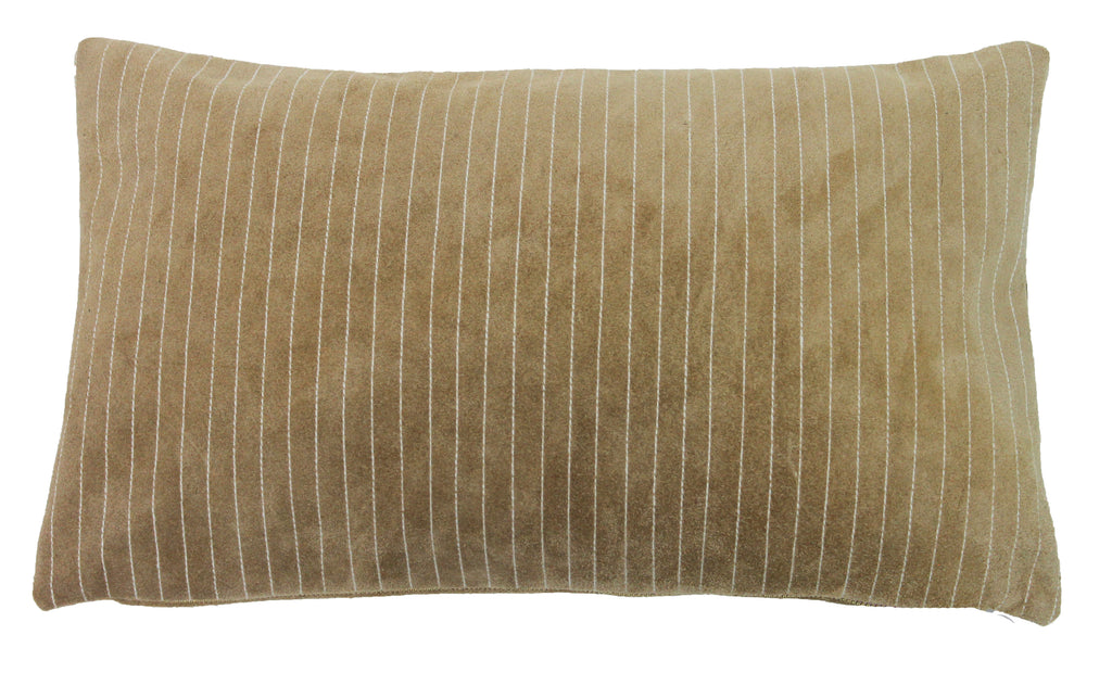 Suede Lines Pillow