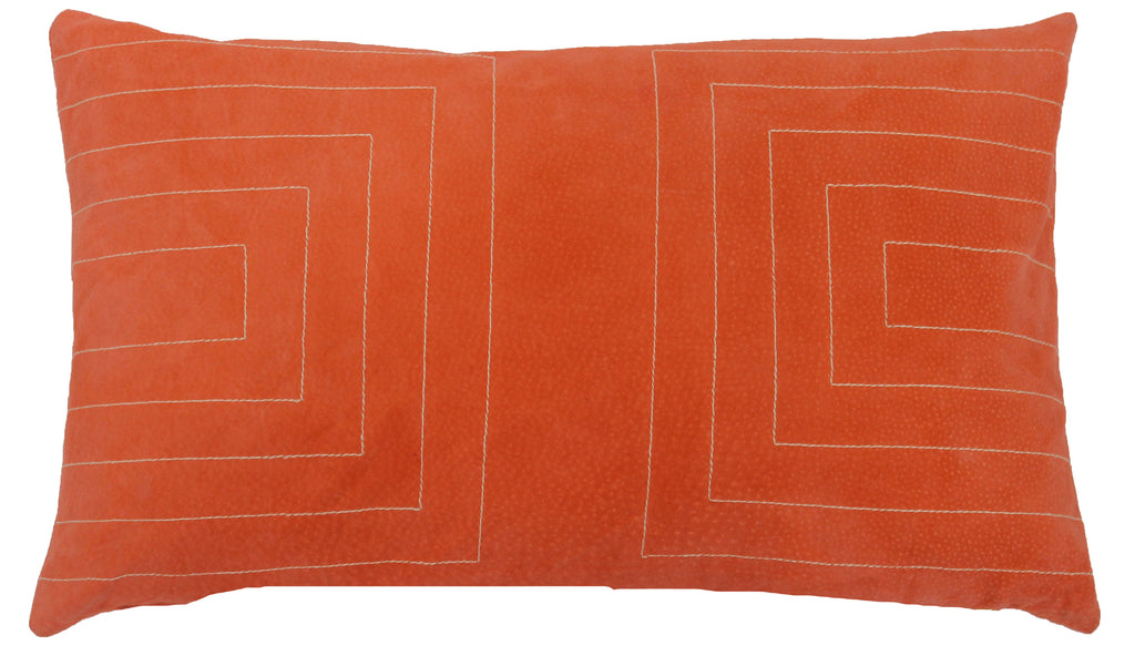 Suede Streams Pillow