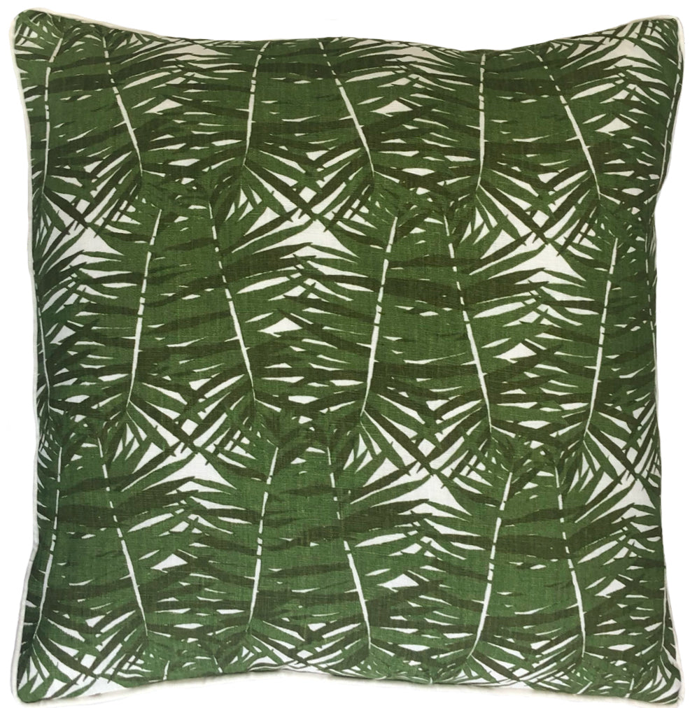 Canary Palm Throw Pillow