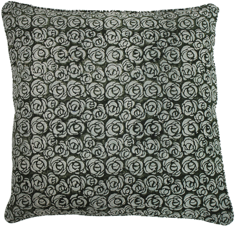 ROSE PATTERN PILLOW
