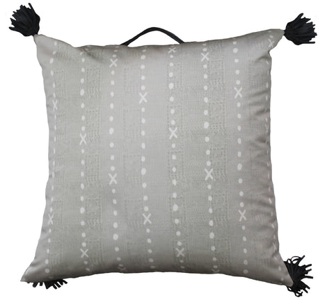Outdoor temple x floor pillow taupe