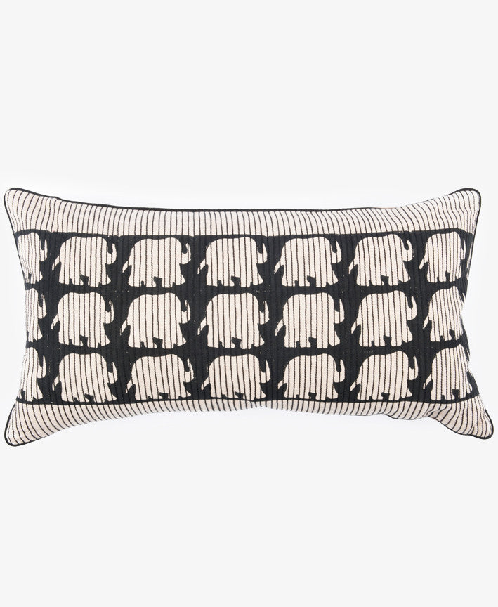 ELEPHANT STITCHES PILLOW